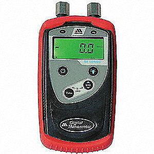 Meriam Digital Manometer 0to2000 In Wc 0 25 Zm100 10