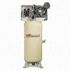 Ingersoll Rand Electric Air Compressor 2 Stage 5 Hp 2340l5