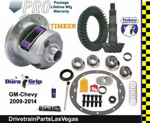 Yukon Posi Limited Slip Chevy Gm 8 5 8 6 4 56 Ratio Gear Set Master Kit 09 14