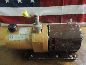 Central Scientific Company 1 3 Hp Vacuum Pump Model 9 03 901 see Pic _nice _