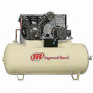 Ingersoll Rand Electric Air Compressor 2 Stage 10 Hp 2545e10v