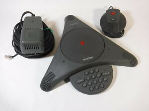 Polycom Soundstation Ex With Microphone And Wall Module