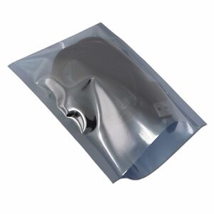 Assorted Open Top Anti static Bag Esd Shielding Plastic Pouch Electronic Pack