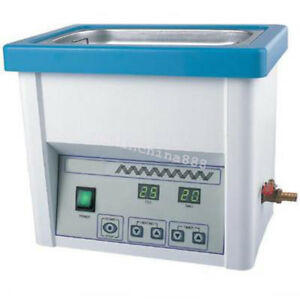 40khz Dental Medical Ultrasonic Cleaner Stainless Steel Industry Heated Clean 5l