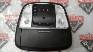 2011 2014 Dodge Charger Oem Black Overhead Console W Sunroof W Garage Opener