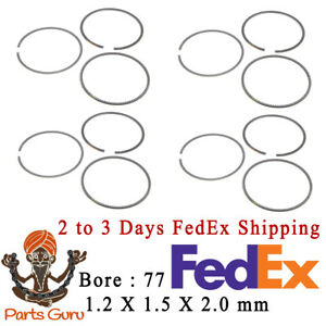 06 16 Mini R55 R56 R57 R58 R60 Cooper Countryman Paceman S 1 6l Piston Rings Set