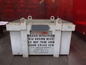 Industrial Steel Shipping Storage Container Crate Id Gemcf764barm