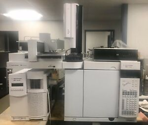 Agilent 7890a Gas Chromatograph With 5975 Series Msd System Ei ci Model Inert