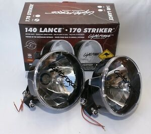 Lightforce 140 Lance With 55w Aftermarket Hid Driving Light Kit Wiring Loom