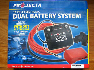 Projecta 100 Amp Electronic 4wd Dual Battery System 4x4