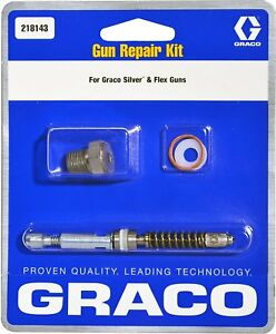 Graco 235474 Gun Repair Kit For Airless Silver Plus And Flex Paint Spray Guns