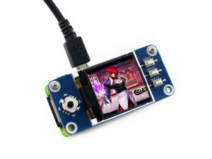 Waveshare 1 44inch Lcd Display Hat For Raspberry Pi 128x128 Pixels Spi Interface