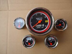 Oliver Tractor Gauges Kit 1550 1650 1750 1755 1850 1855 1950 1955 2050 2150