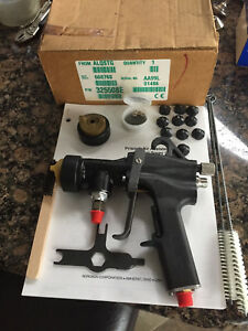 Nordson Aa99l Air Assisted Airless Paint Spray Gun Binks Devilbiss Graco