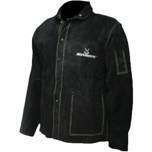 Caiman Black Boarhide 30 jacket Welding apparel Medium