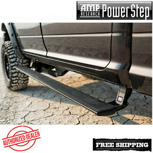 Amp Research Powerstep Automatic Running Board 08 16 Ford F250 F350 W Light Kit