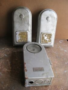 Vintage Horolectric Triplex Electric Time Switches