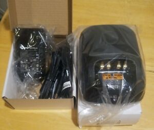 Brand New Motorola Wpln4199b Impres Adaptive Charger Wpln4243a W Power Supply