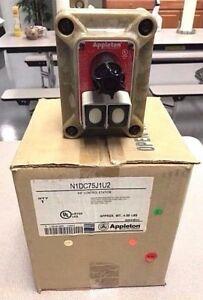 New N1dc75 j1u2 Appleton Pb pl Switch n1dc75j1u2
