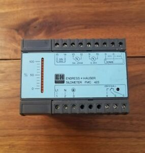 Endress Hauser Silometer Fmc423 Level Controller used
