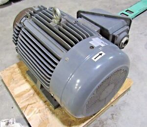 Teco Westinghouse 100 Hp 3 Ph 230 460v Continuous Duty Motor Used Sold As Is