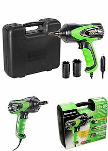 Kawasaki 1 2 Electric Impact Electric Wrench Kit 11 Ft Corded Heavy Duty
