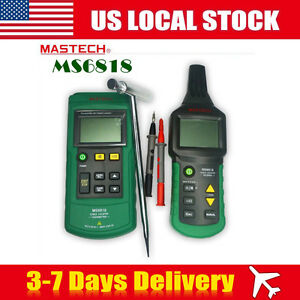 Mastech Wire Tracker Cable Locator Detector Tester Meter Ms6818 12 400v Ac dc