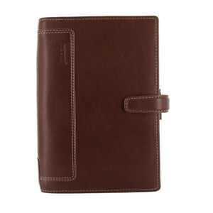 Filofax A6 Personal Holborn Planner Diary Note Leather Brown Organiser 025120