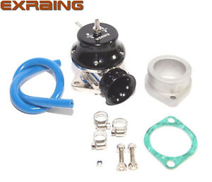Black Adj Type Rs Blow Off Valve 2 5 Silicone Type S Adapter Ss Clamps Combo