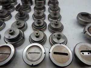 Punch Press Tooling Wilson Amada 12 Oblong Pieces Die Is 4 15 16 Round