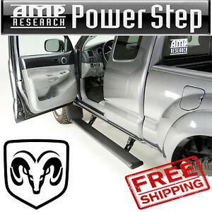 Amp Research Powerstep Automatic Running Board 2011 2018 Ram 2500 W Light Kit