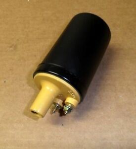 1958 To 1973 Lincoln Ford Thunderbird New Ignition Coil Mustard Yellow Top
