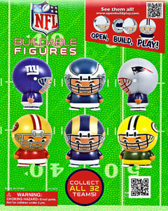 Vending Machine 1 00 Capsule Toys Nfl Buildable Figurines
