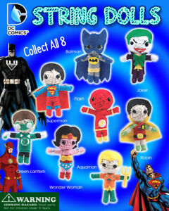 Vending Machine 1 00 Capsule Toys Dc Comic String Doll Figurines
