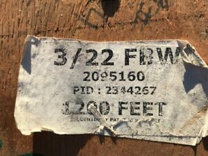 Buried Service Wire 3502 3 22fbw Single Jacketed By General Cable