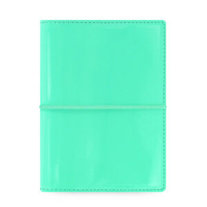 Filofax Pocket Domino Patent Planner Diary Turquoise Notebook Organiser 022513