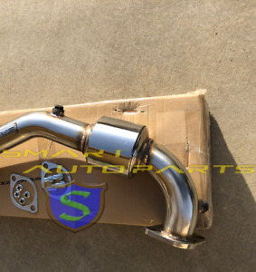Srs Stainless Downpipe Down Pipe With Catless For Impreza 2 5l Rs Ej 1997 2005