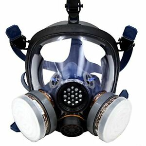 Safety Masks Full Face Respirator Protection Gas Paint Chemical Formaldehyde New