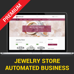 Automated Jewelry Store Affiliate Business Website