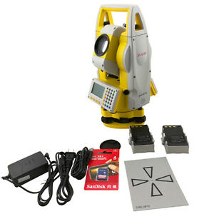 New South Reflectorless 400m Total Station Nts 332r4 With A Prism