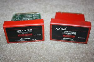 Snap on 2001 Asian Imports Primary 00 Troubleshooter Cartridge Software Mt2500