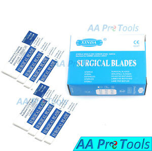 Aa Pro 500 Sterile Surgical Blades 15 Carbon Steel Surgical Instruments
