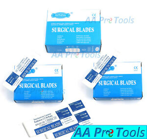 Aa Pro 500 Sterile Surgical Blades 22 Carbon Steel Surgical Instruments