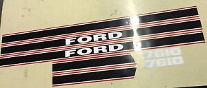 Ford 7610 Decals