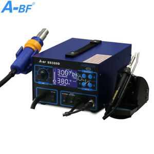 3 In 1 Soldering Station Iron A bf Ss320d Power Supply Hot Air Gun Welding Tool