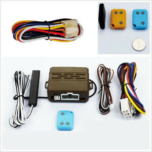 Car Alarm Safety System Induction Remote Control Engine Start Push Kit Universal