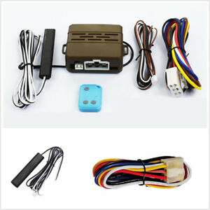 New Car Alarm Induction Remote Control Engine Start Push Remote Start System Kit