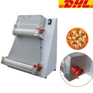 Auto Pizza Bread Dough Roller Sheeter Machine Pizza Making Machine Dhl Fast Ship