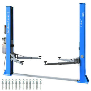 2 Post Lift 9200 Lbs Twin Busch Car Lift Tw 242 A New Top Offer
