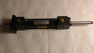 New Parker Series 3l Hydraulic Cylinder 1 Bore 4 Stroke Ckj3lct19a19ac